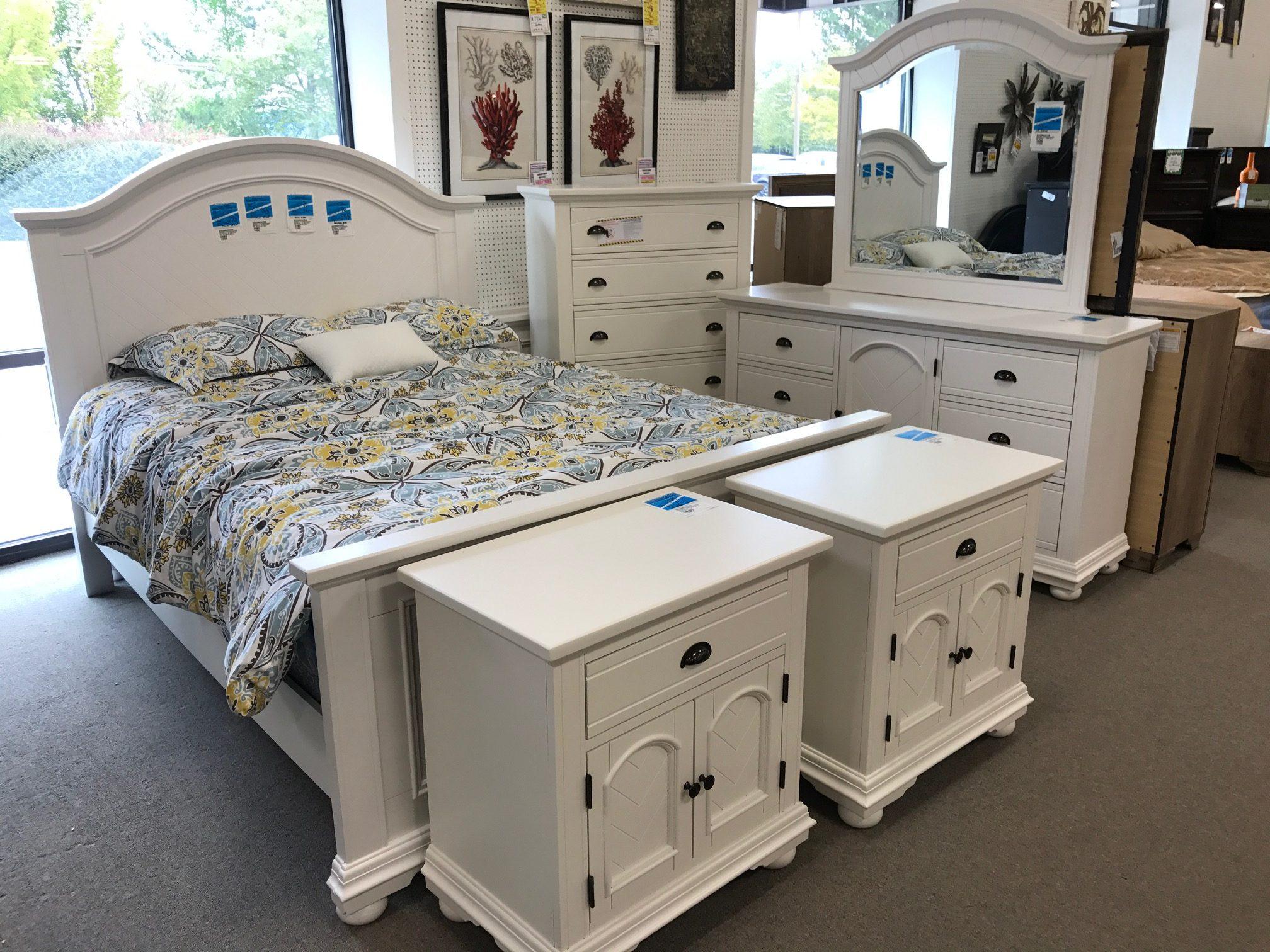 Brook White Bedroom Heavner Furniture Market