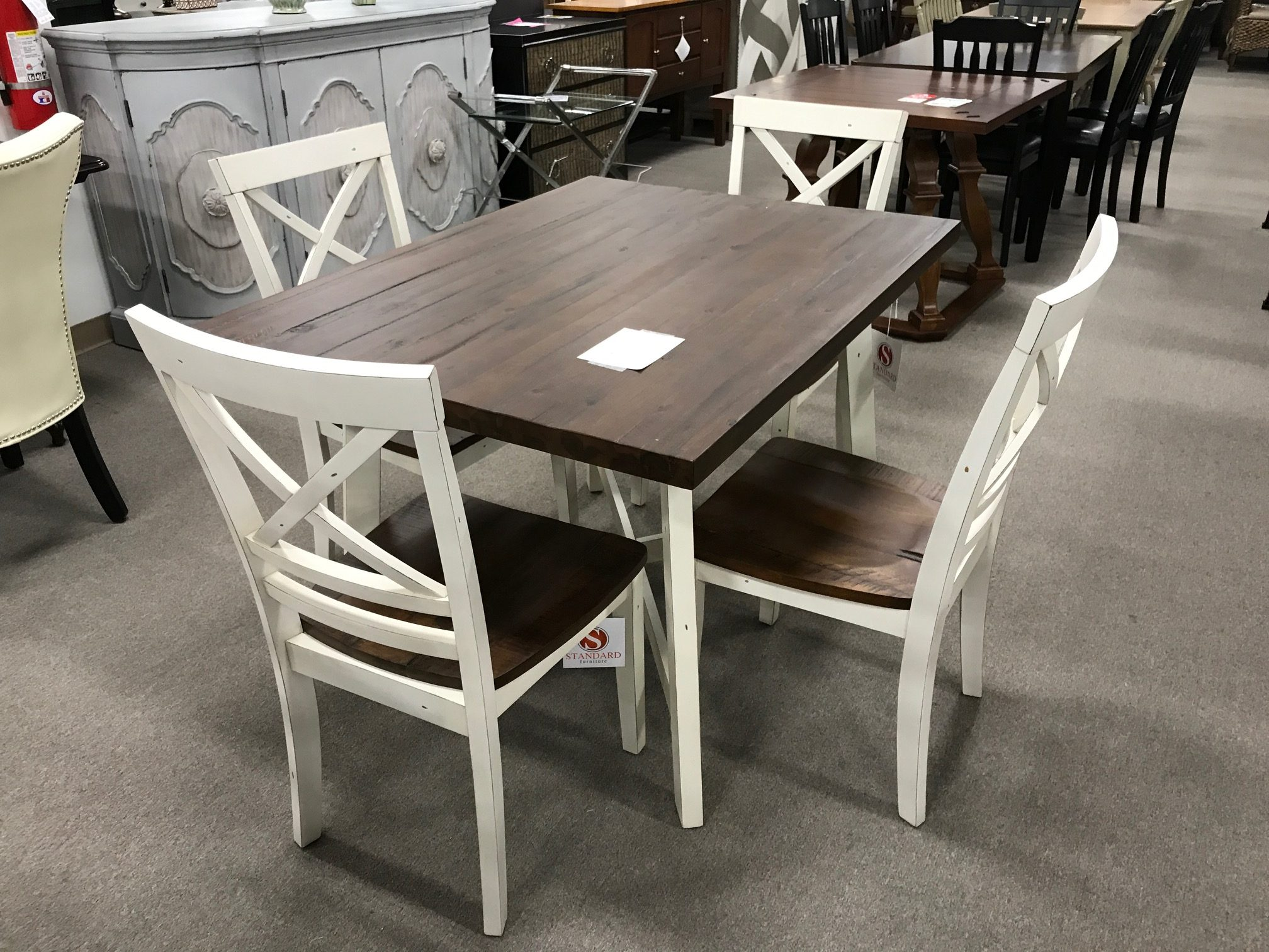Reclaimed Table And 4 Chairs Heavner Furniture Market