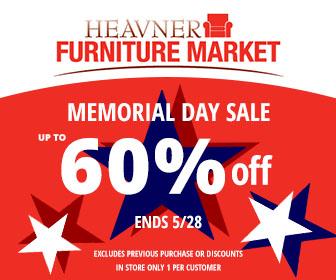 Heavner Sofa Coupon 336x280 Heavner Furniture Market